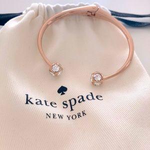 Kate Spade rose gold bangle